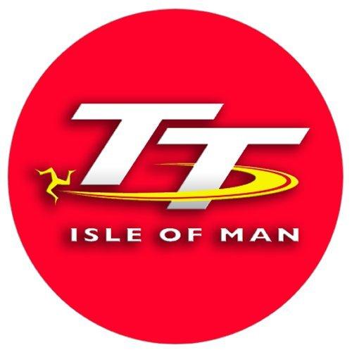 Official Isle of Man TT Logo Black Pop Socket