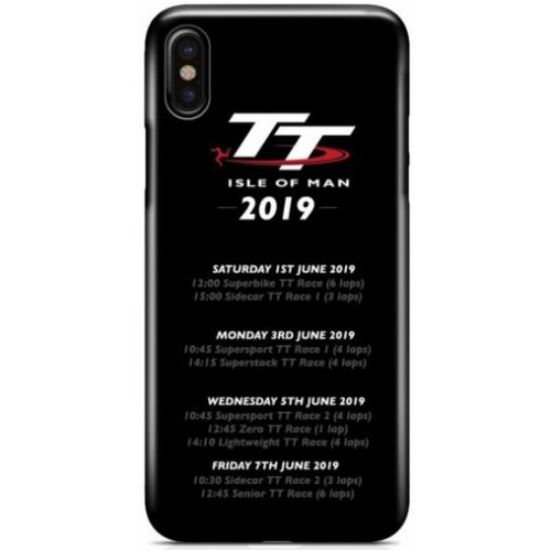 Isle of Man TT 2019 Schedule Phone Case
