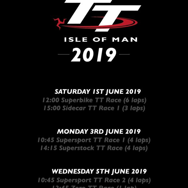 TT Week Race Days 2019