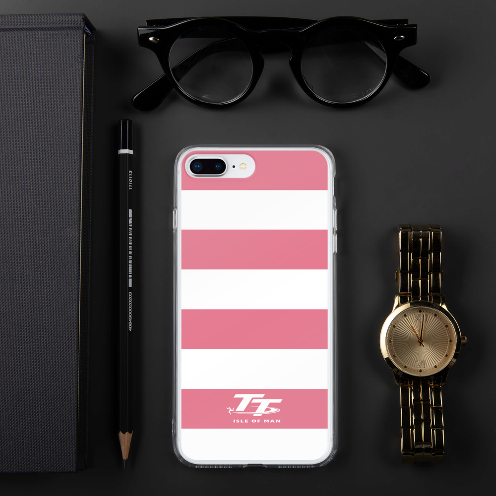Pink Zebra Style Isle of Man TT Phone Case