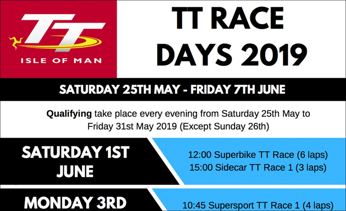 TT Race Days 2019 PDF Preview
