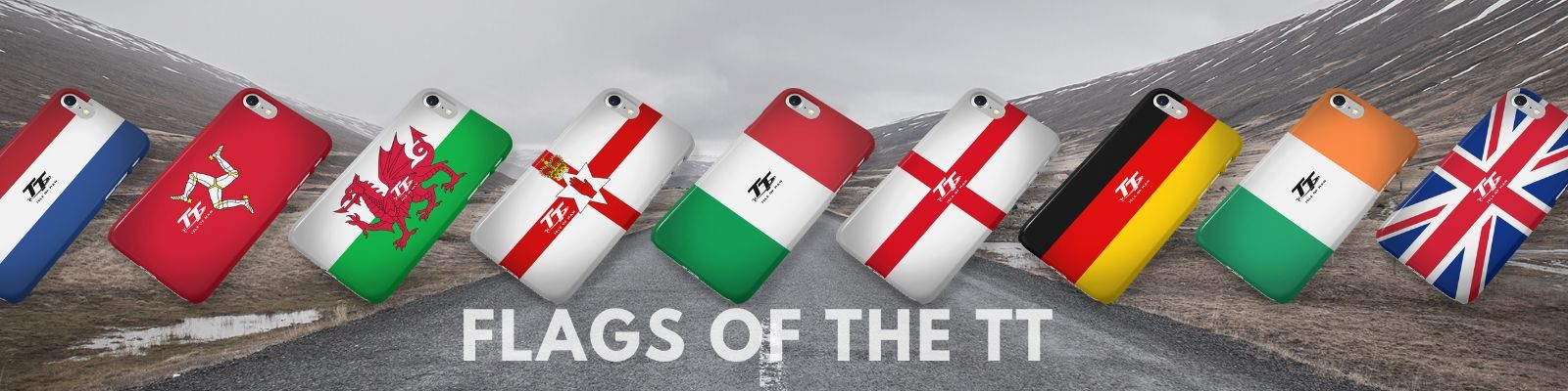 Flags of the TT Category Banner