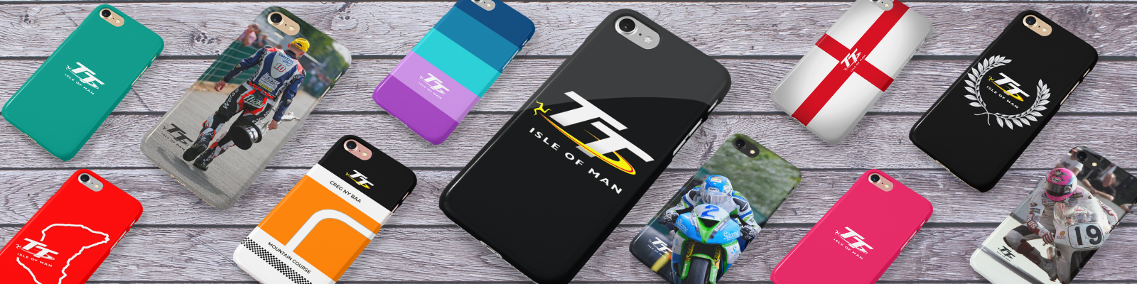 Category Banner - Phone Cases Isle of Man TT