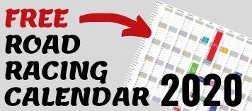2020 Road Racing Calendar